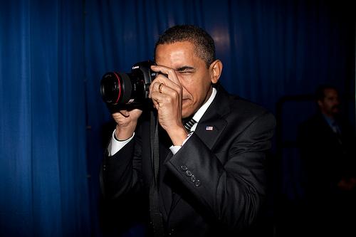 Obama usa Canon? E daí?