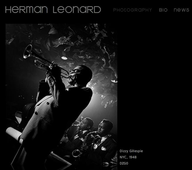 Photographers all over the world: Herman Leonard