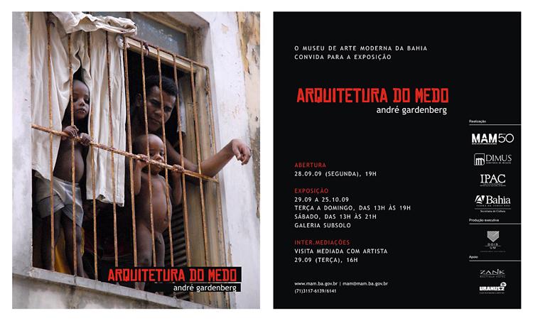 Salvador: Exposição Arquitetura do medo