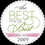 The World`s best wedding photos 2009: by Junebug Weddings