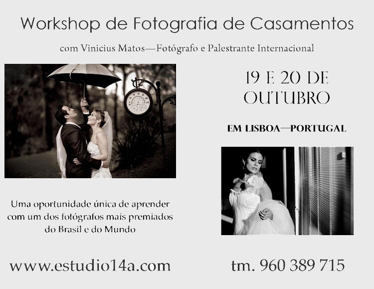 Meu primeiro workshop em Portugal - Lisboa