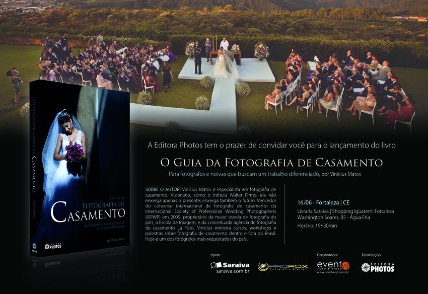 Lançamento do meu livro: O Guia da Fotografia de Casamento
